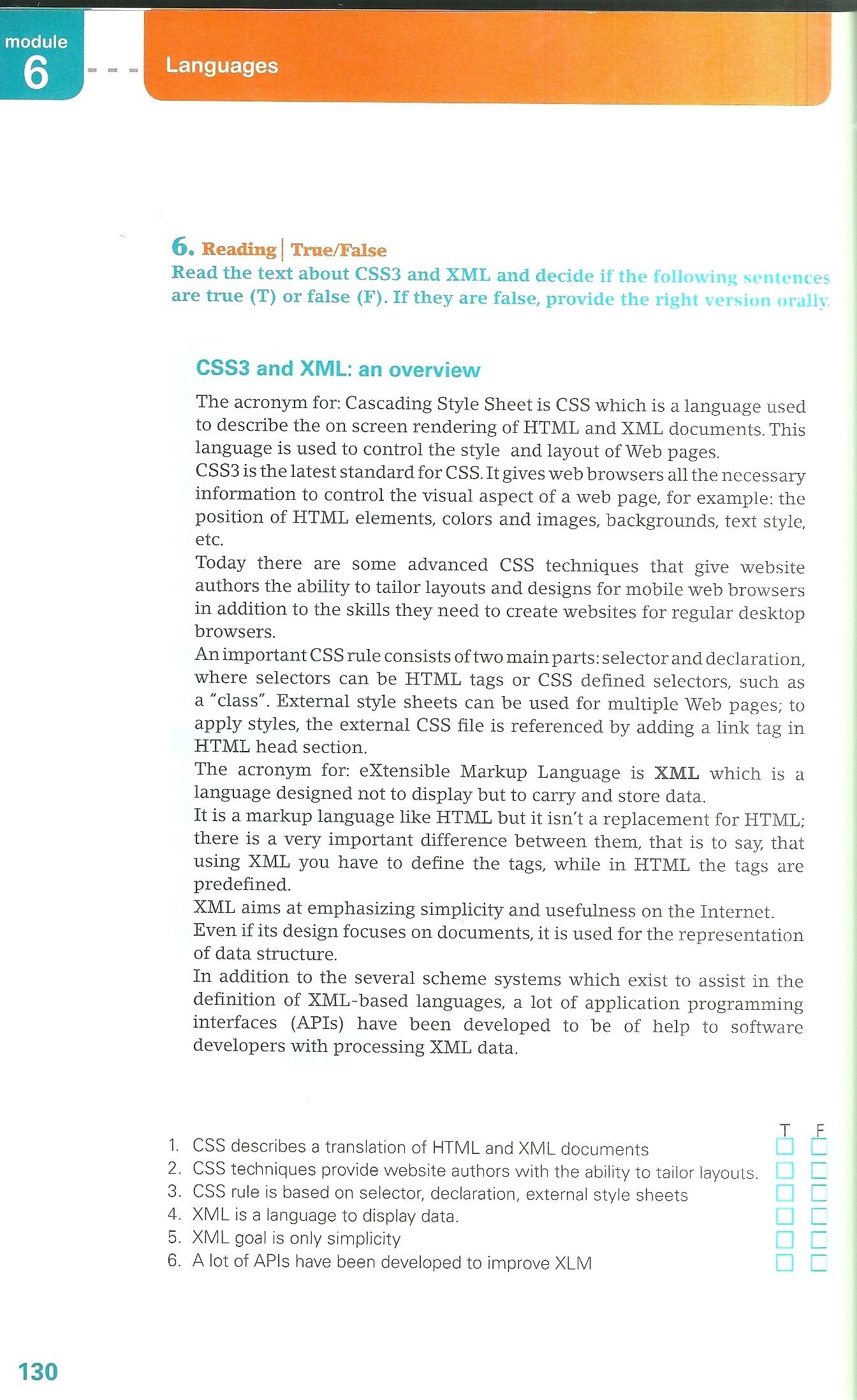 CSS3 and XML