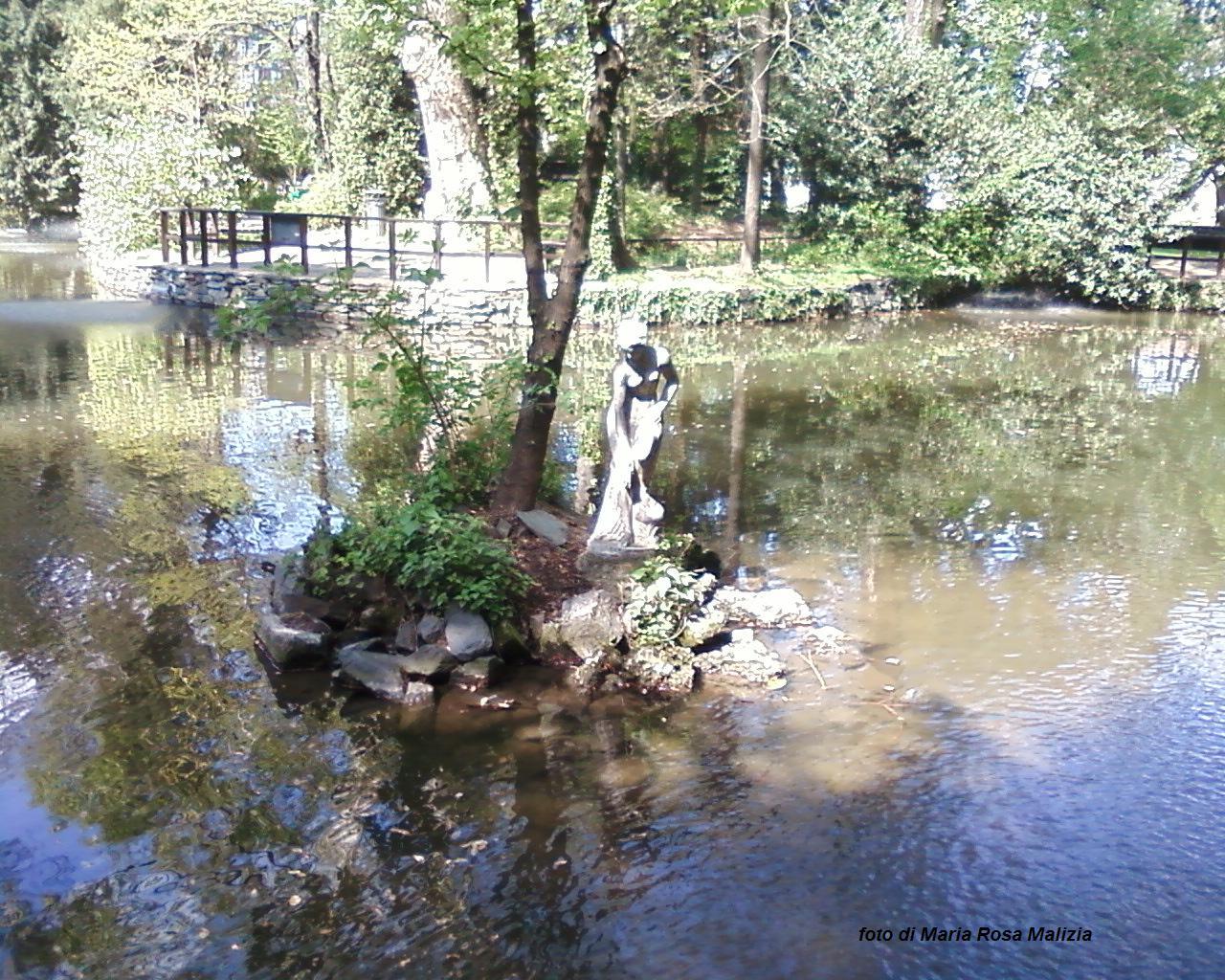 Donna del laghetto Parco di Gorgonzola