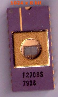 EPROM 1024 x 8 bit