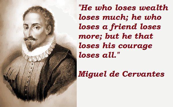 Frase Miguel de Cervantes