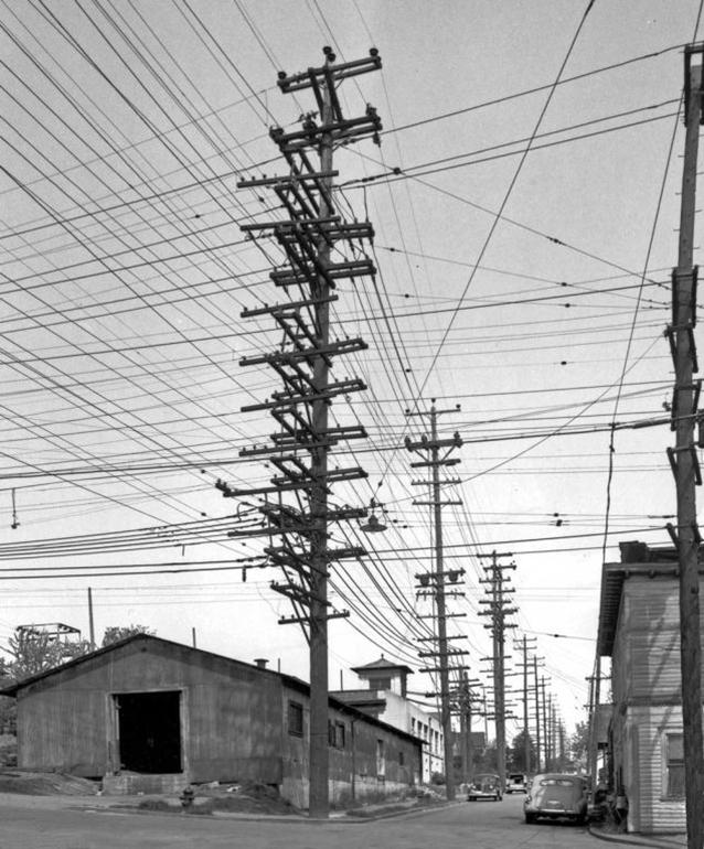 La 36 esima strada a Seattle Whashington, 1952