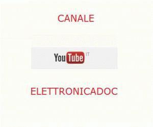 Vai al Canale You Tube del sito Elettronicadoc