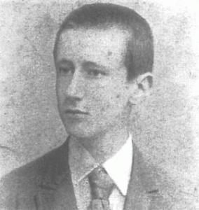 Marconi a 15 anni circa